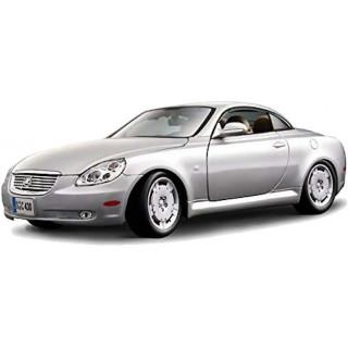 Bburago Lexus SC 430 1:18 stříbrná