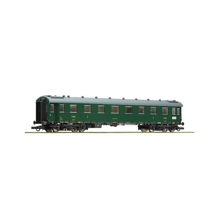 Rychlíkový vůz 1.třídy - CSD 64893