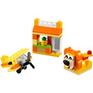 LEGO Classic - Oranžový kreativní box