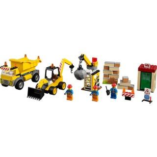 LEGO Juniors - Demoliční práce na staveništi