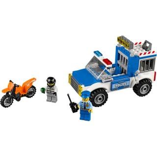 LEGO Juniors - Honička s policejní dodávkou