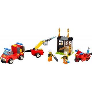 LEGO Juniors - Kufřík hasičské hlídky