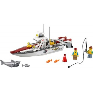 LEGO City - Rybářská loďka