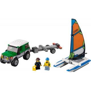 LEGO City - 4x4 s katamaránem