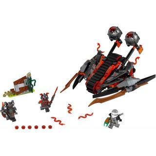 LEGO Ninjago - Ničivé vozidlo rumělkových válečníků