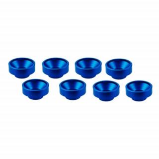 M3 alu servo podložky modré (8 ks.)