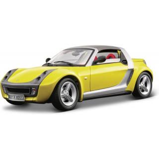 Bburago Smart Roadster 1:18 žlutá
