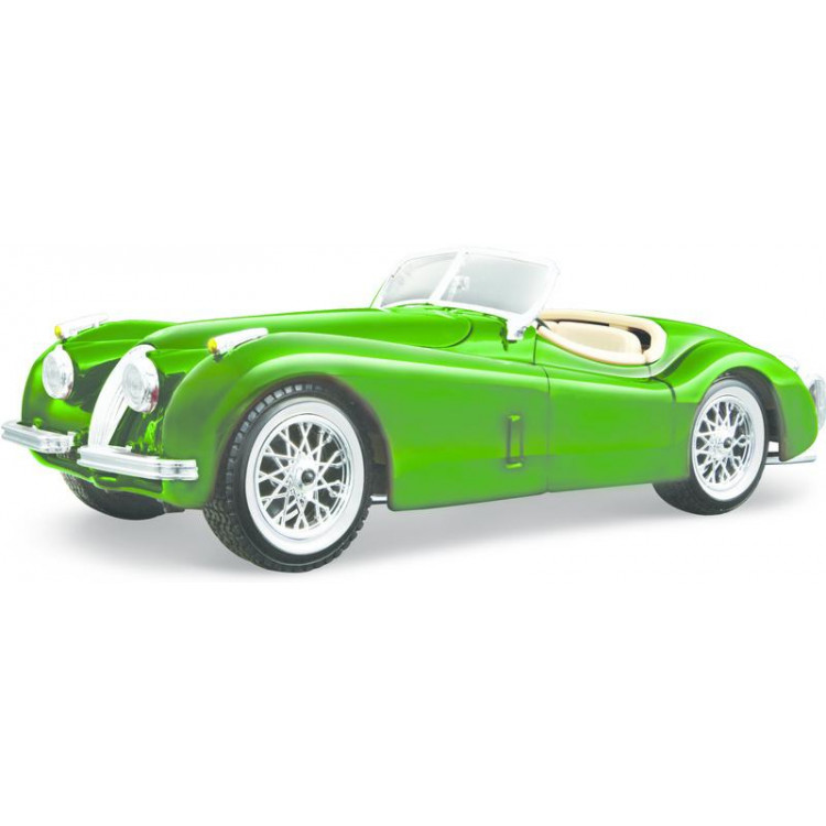 Bburago Jaguar XK 120 Roadster 1951 1:24 zelená