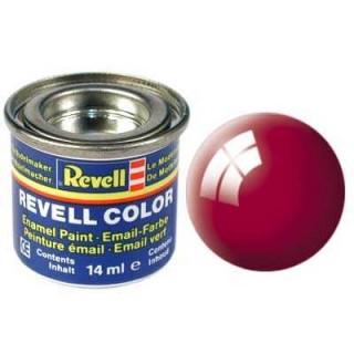 Barva Revell emailová - 32134: lesklá ferrari červená (Ferrari red gloss)