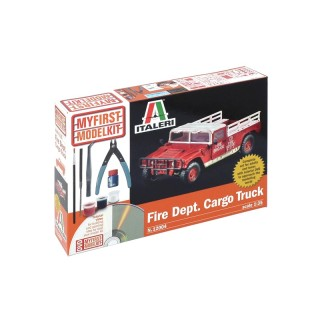 My First Model Kit auto 12004 - FIRE DEPARTMENT CARGO TRUCK (1:35)