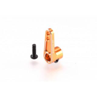 Hliníková servo offset páka 25 zubů, oranžová
