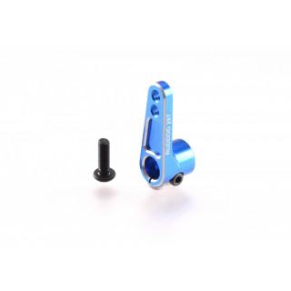Hliníková servo offset páka 25 zubů, modrá