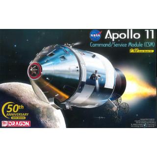 Model Kit Apollo 11007 - APOLLO 11 CSM (1:48)