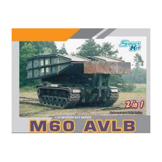 Model Kit military 3591 - M60 AVLB (Armored Vehicle Launched Bridge) SMART KIT (1:35)