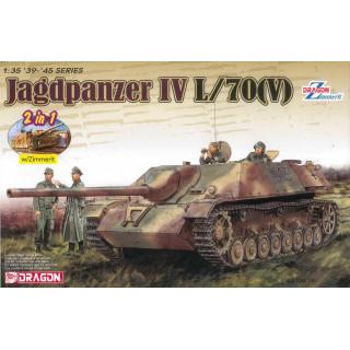 Model Kit tank 6498 - Jagdpanzer IV L/70(V) (1:35)