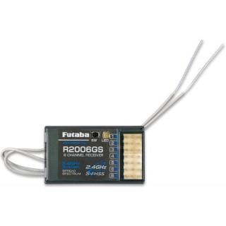 Futaba přijímač 6k R2006GS 2.4GHz S-FHSS/FHSS