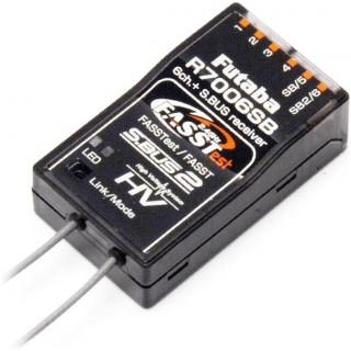 Futaba přijímač 6/18k R7006SB 2.4GHz FASSTest/FASST S.BUS/2