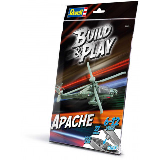 Build & Play vrtulník 06453 - AH-64 Apache (1:100)