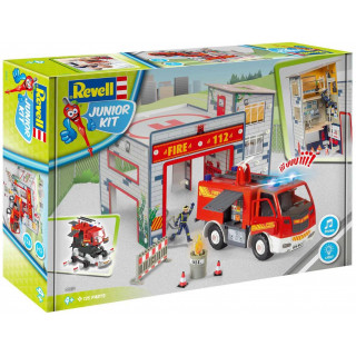 Junior Kit playset 00852 - Fire Truck & Fire Station (1:20)