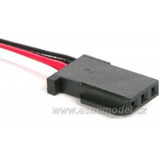 Kabel Gyra GY520 200mm červený