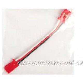 Kabel Gyra GY520 80mm červený