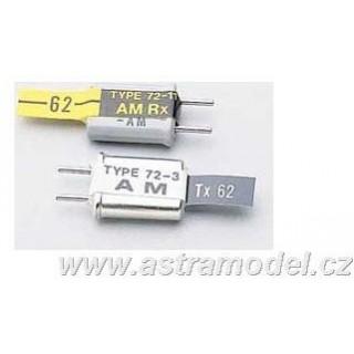 Krystal Tx AM 40835 Futaba kanál č.83