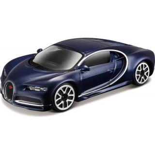 Bburago Bugatti Chiron 1:43 modrá metalíza