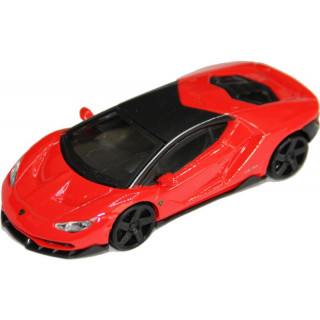 Bburago Lamborghini Centenario 1:43 červená