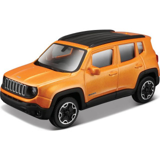 Bburago Jeep Renegade 1:43 oranžová metalíza