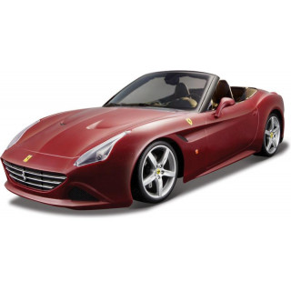 Bburago Ferrari California T (otevř.) 1:32 vínová