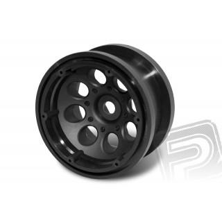 2.2 8 Hole Beadlocks (Black)