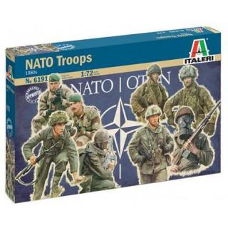 Model Kit figurky 6191 - NATO TROOPS (1980s) (1:72)