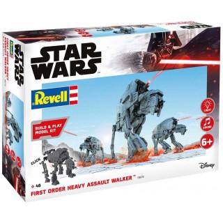 Build & Play SW 06772 - First Order Heavy Assault Walker (světelné a zvukové efekty) (1:164)