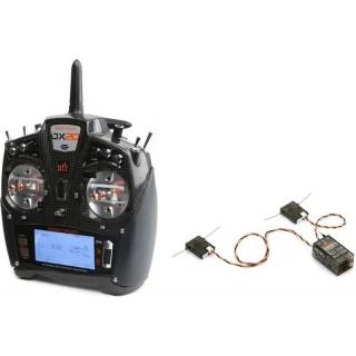 DX20 DSM X Spektrum 20CH System AR9020 Mód 2 (1-4)