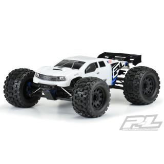 BRUTE lakovaná karoserie, bílá, předříznutá pro TRX E-REVO 2.0