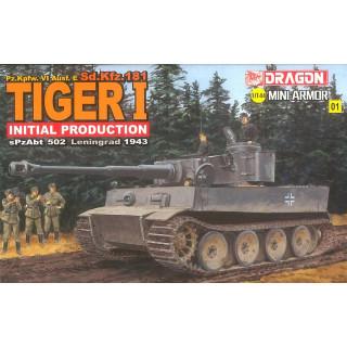 Model Kit tank 14101 - Tiger I Initial (1:144)