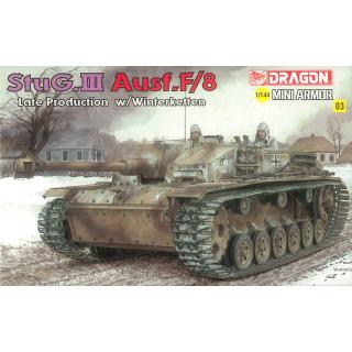 Model Kit tank 14103 - StuG.III Ausf.F/8 (1:144)