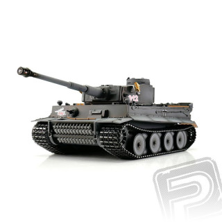 TORRO tank PRO 1/16 RC Tiger I Early Vers. šedý - infra