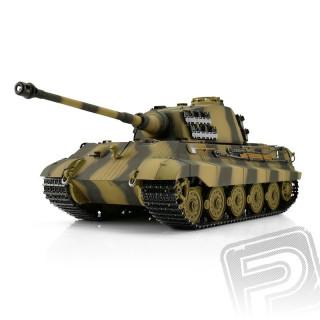 TORRO tank PRO1/16 RC Kingtiger kamufláž - infra