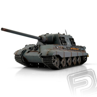 TORRO tank PRO 1/16 RC Jagdtiger šedý - infra