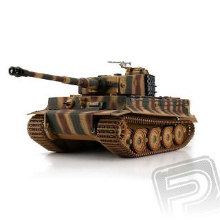 TORRO tank 1/16 RC Tiger I Late Vers. kamufláž - infra