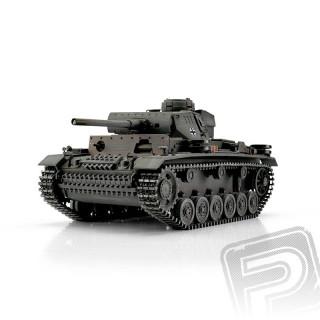 TORRO tank PRO 1/16 RC PzKpfw III Ausf. L šedý - infra