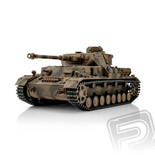 TORRO tank PRO 1/16 RC PzKpfw IV Ausf. G kamufláž - infra