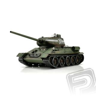 TORRO tank PRO 1/16 RC T-34/85 zelený - infra