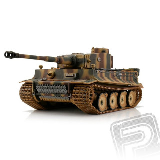 TORRO tank 1/16 RC Tiger I Early Vers. kamufláž - infra