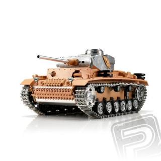 TORRO tank PRO 1/16 RC Panzer III bez nástřiku - infra