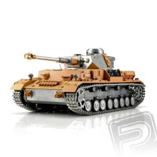 TORRO tank PRO 1/16 RC Panzer IV bez nástřiku - infra