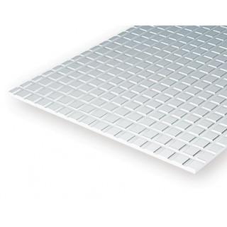 Čtvercové dlaždice lehké 12.7x12.7