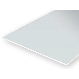 Bílá deska 2.0x150x300 mm