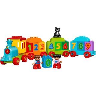 LEGO DUPLO - Vláček s čísly